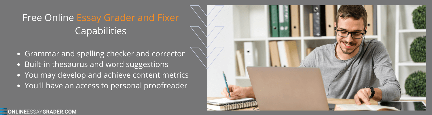free online essay grader and fixer capabilities